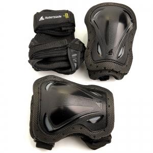 Комплект защиты ROLLERBLADE SKATE GEAR 3 PACK black 2020 г.