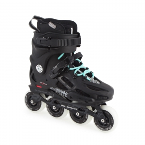 Роликовые коньки ROLLERBLADE TWISTER 80 W black/light blue 2017 г.